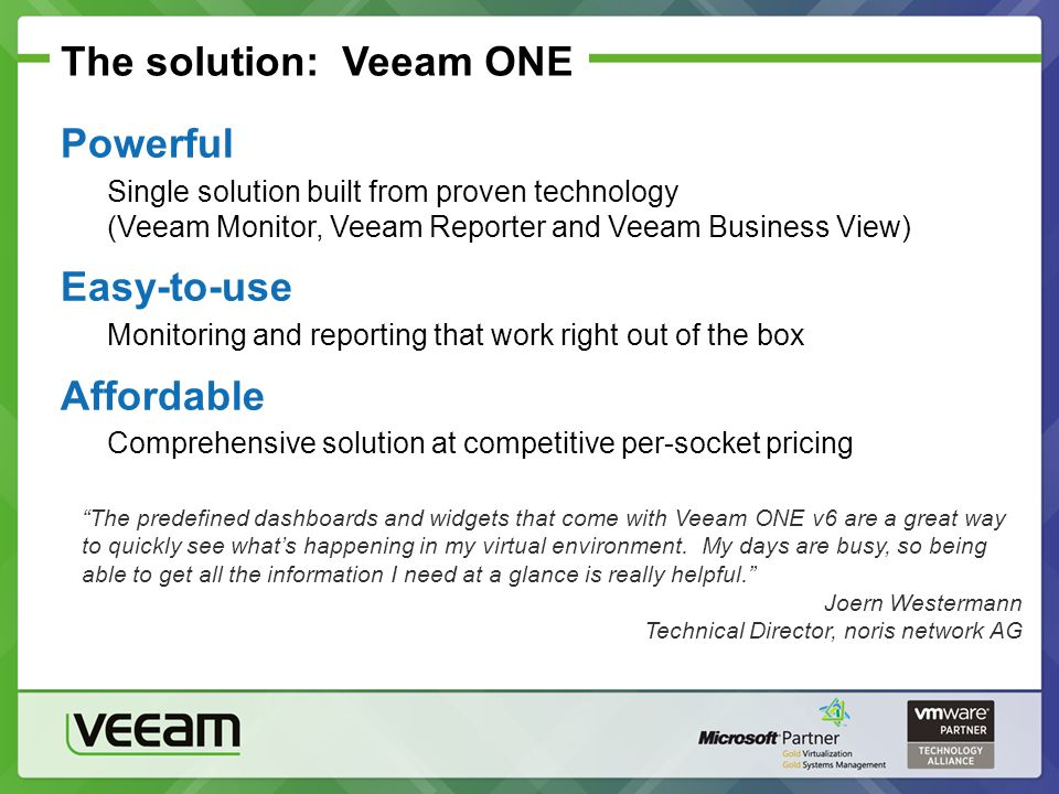 Powerful and Effective Virtualization Management for Vmware