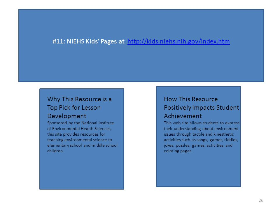 11 NIEHS Kids Pages At Why This Resource Is A Top Pick For