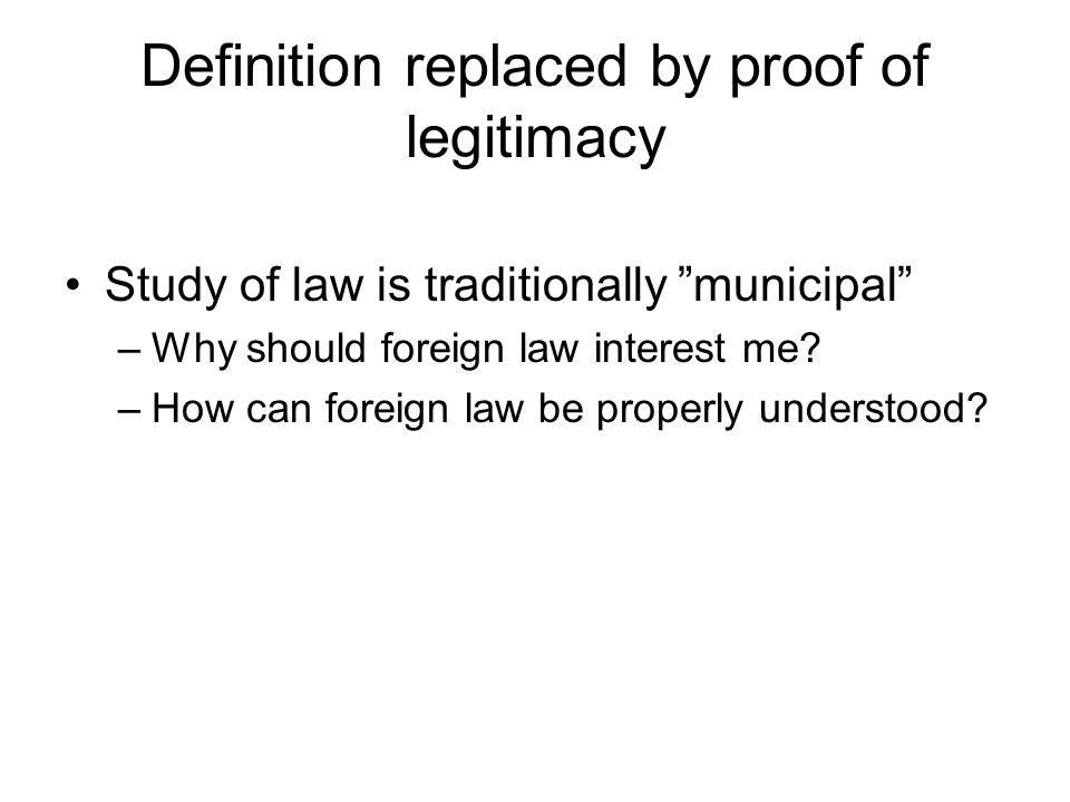 foreign study definition