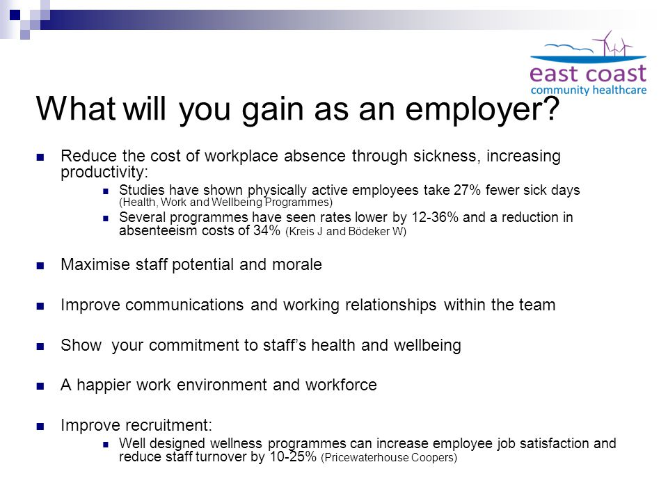 What will you gain as an employer.