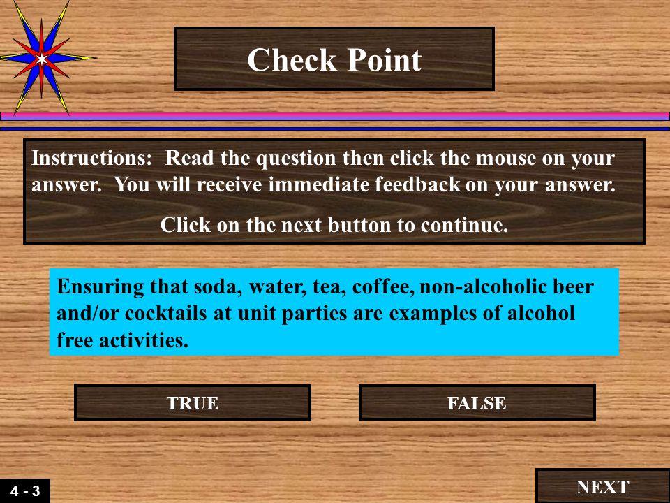 4 3 Check Point The De Glamorization Of Alcohol Andor Alcohol