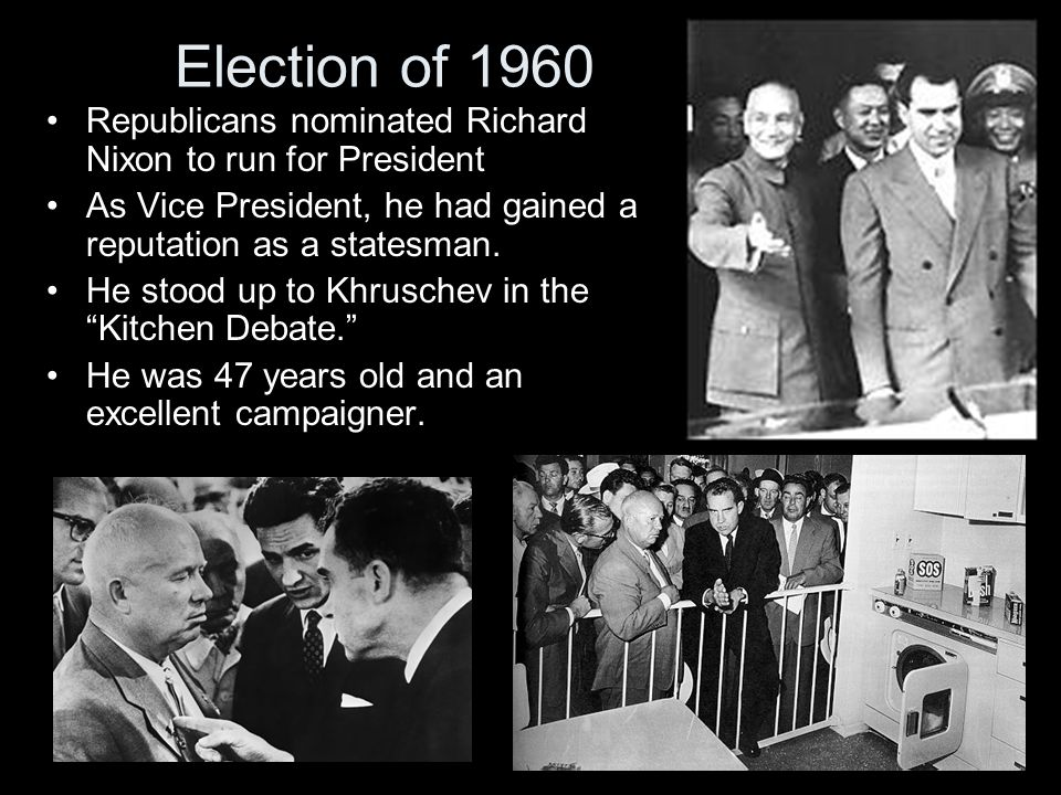 John F Kennedy Administration Election Of 1960 Republicans