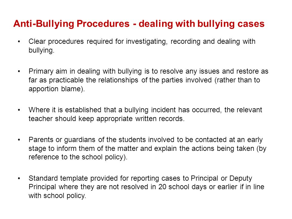 13 anti bullying