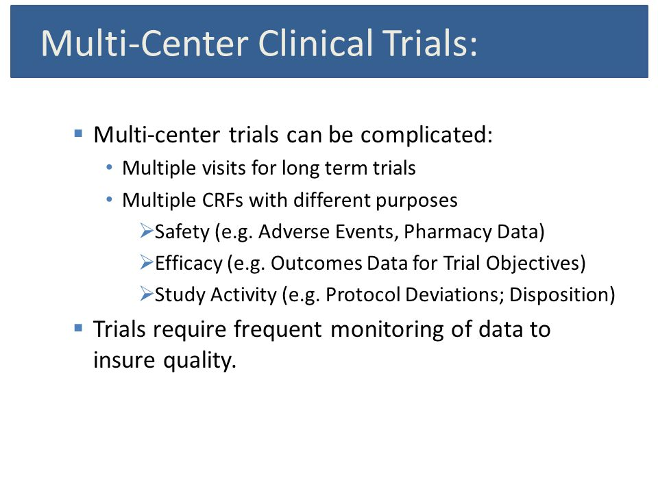 Use of sas for clinical trial management and risk based monitoring multi center clinical trials multi center trials can be complicated multiple maxwellsz
