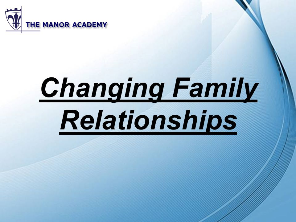 Powerpoint templates the manor academy changing family relationships 1 powerpoint templates the manor academy changing family relationships toneelgroepblik Images