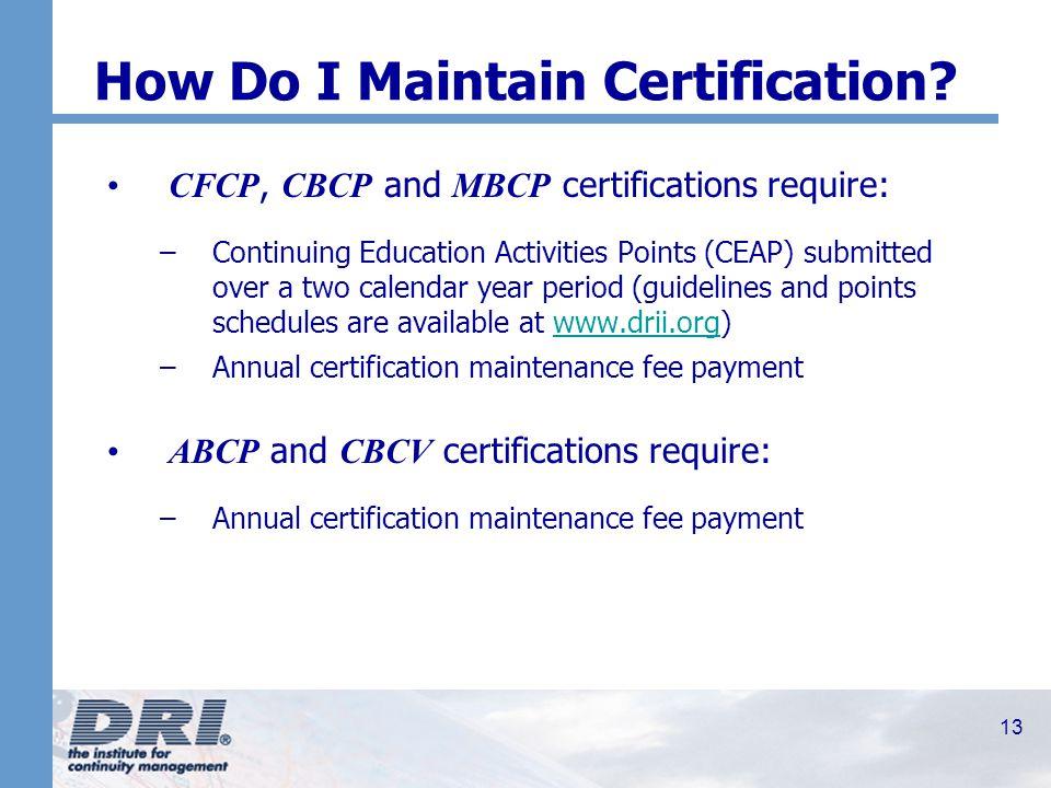 1 Dri Internationals Certification Process Professional