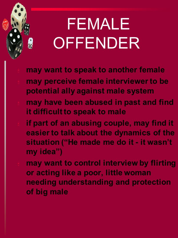 INTERVIEWING THE CHILD SEX OFFENDER. u interview requires planning and preparation u no best way to get admission/confession u each individual has different. - ppt download - 웹
