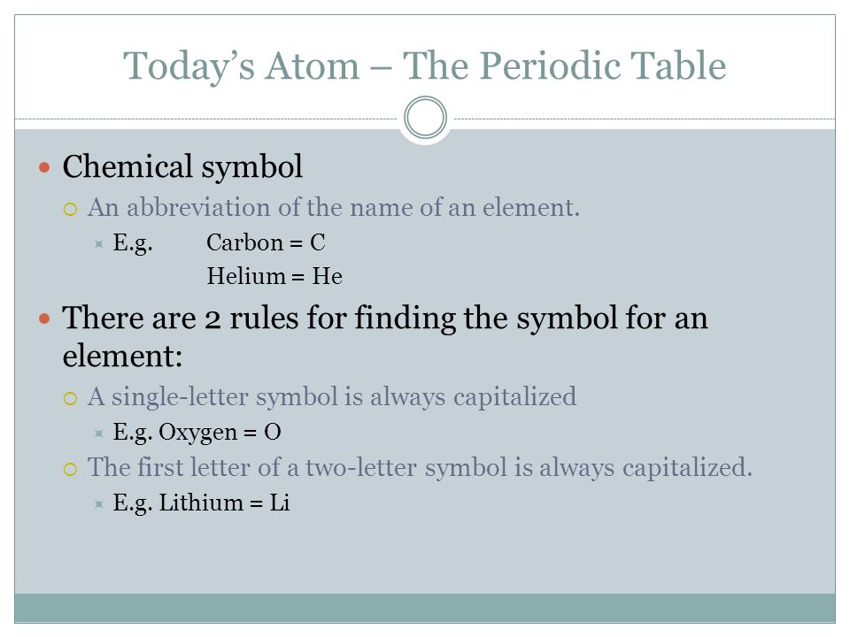 The periodic table the element song httpsyoutubewatchv todays atom the periodic table chemical symbol an abbreviation of the name of an urtaz Images