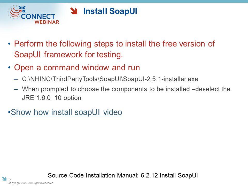 CONNECT: Release 2 2 Windows Install Webinar November 11, 2009
