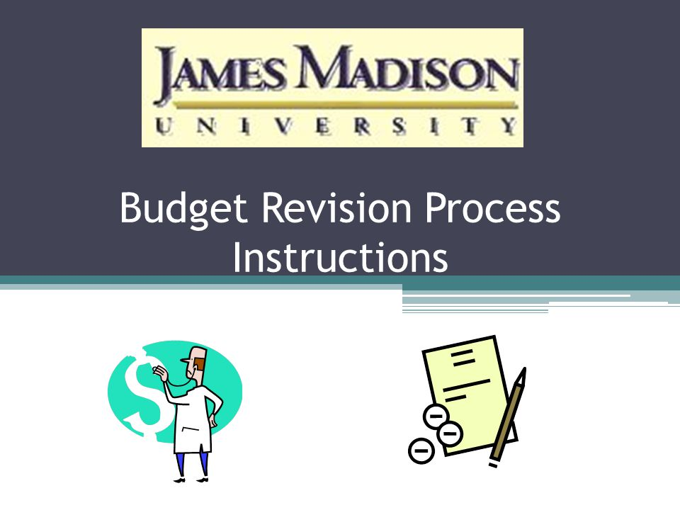 Budget Revision Process Instructions