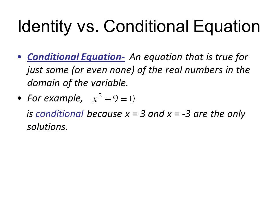 Linear Equations In One Variable Objective To Find Solutions Of