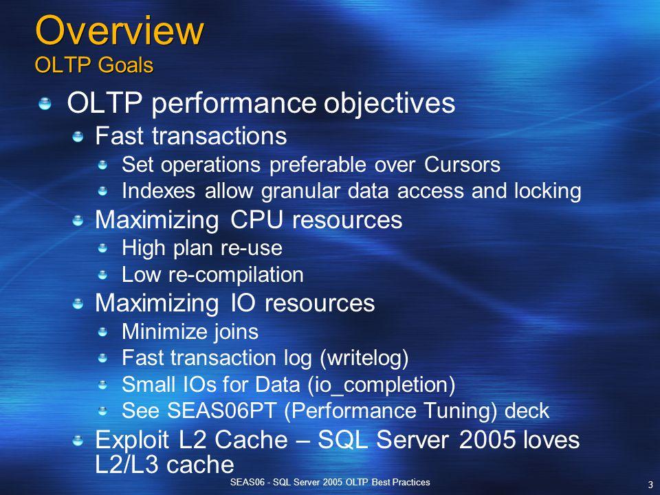 SEAS06 - SQL Server 2005 OLTP Best Practices 1 SEAS 2006 SQL Server 2005 OLTP Best Practices. - ppt download - 웹