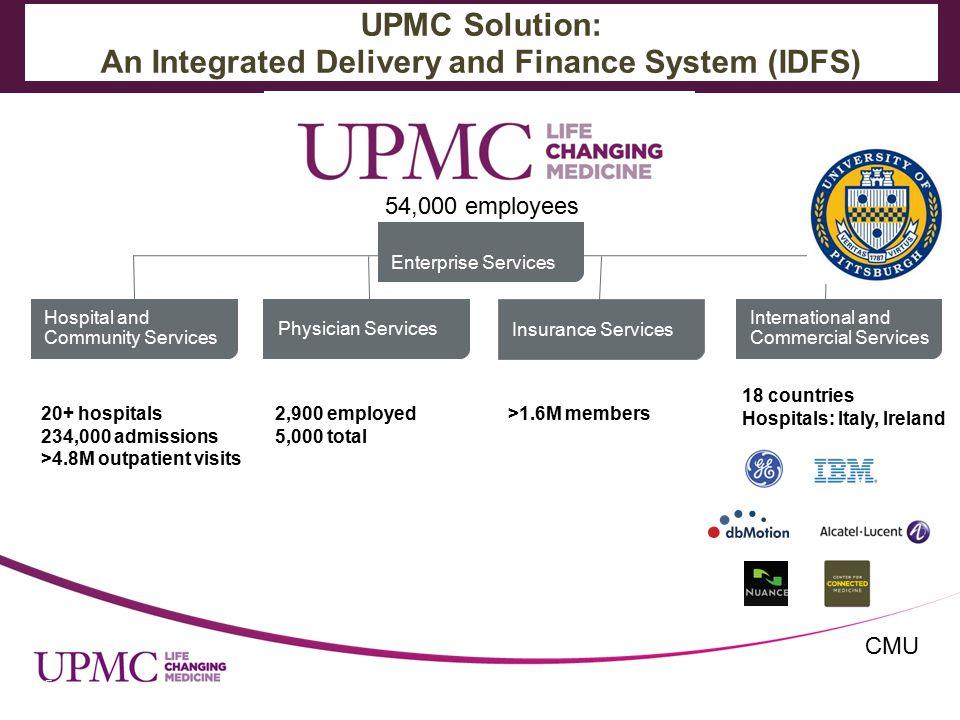 Steven Shapiro M D  Sr  VP, CMSO, UPMC Health Care Reform and New