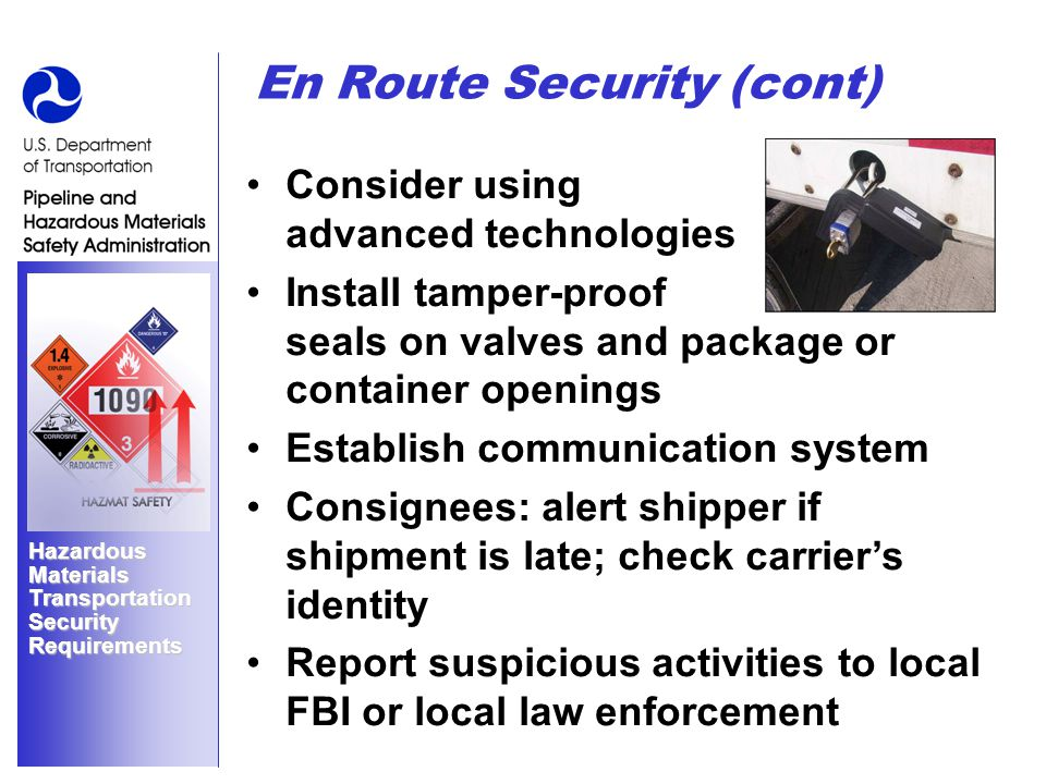 fbi background check hazard materials carrier