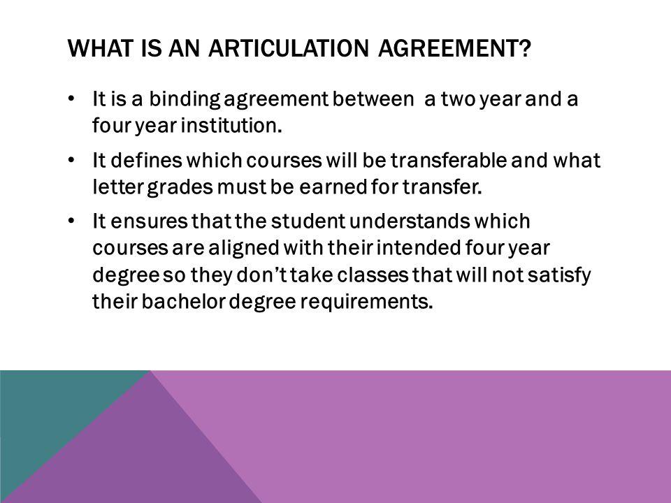 Articulation Agreements Deborah A Cook Rdh Maed Bergen Community