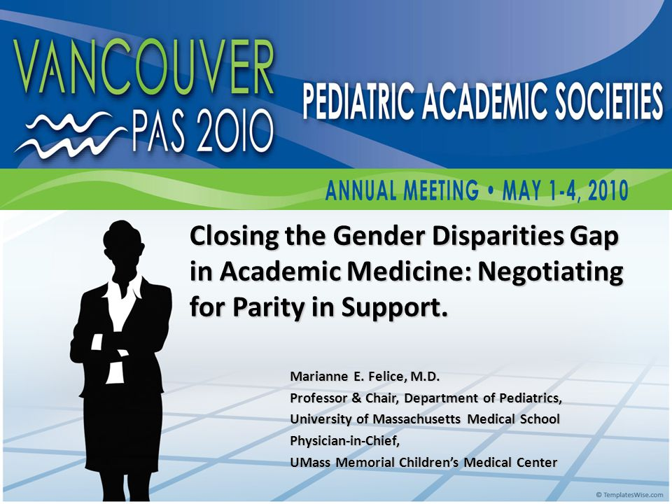 Closing the Gender Disparities Gap in Academic Medicine: Negotiating for Parity in Support.