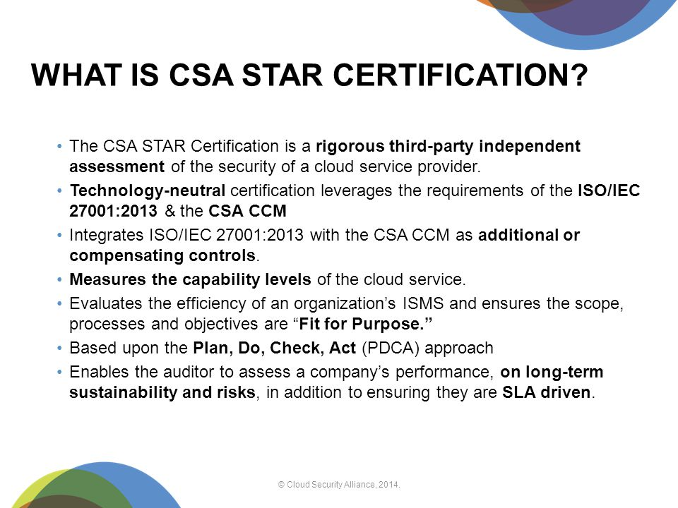Building trust in the Cloud: the CSA perspective Daniele Catteddu ...
