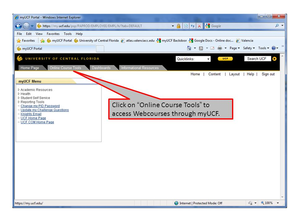 Online Instruction Information and Instructions for Students