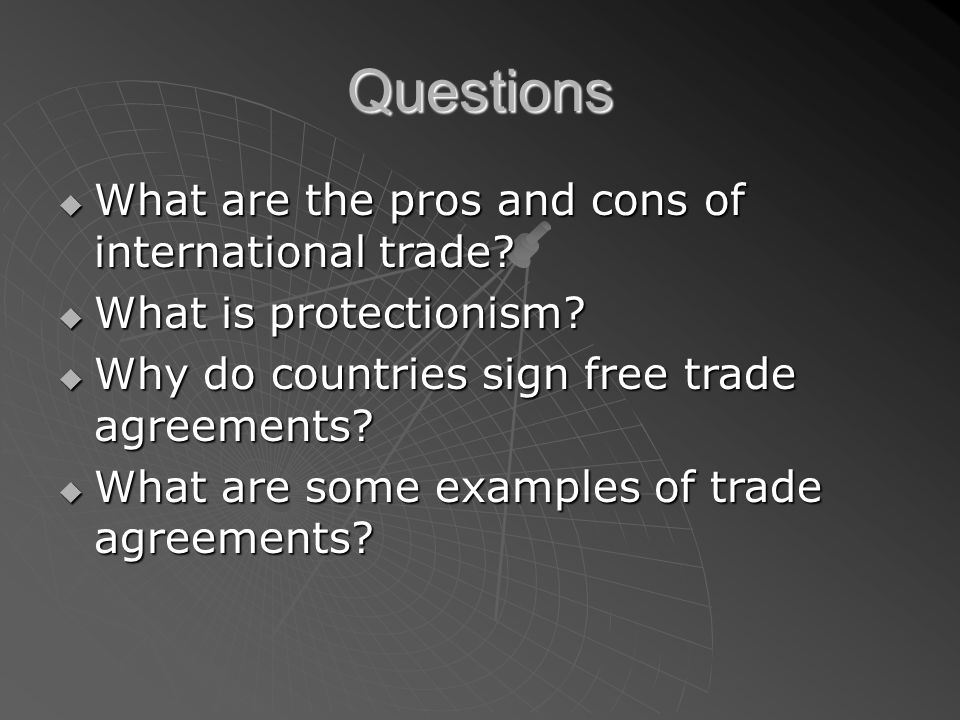 International Trade Agreements Bbi2o Protectionism Wwwwhen