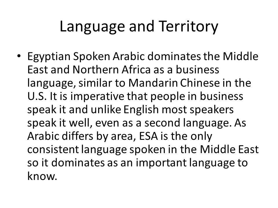 Egyptian Spoken Arabic Calvin Green  Language Spread