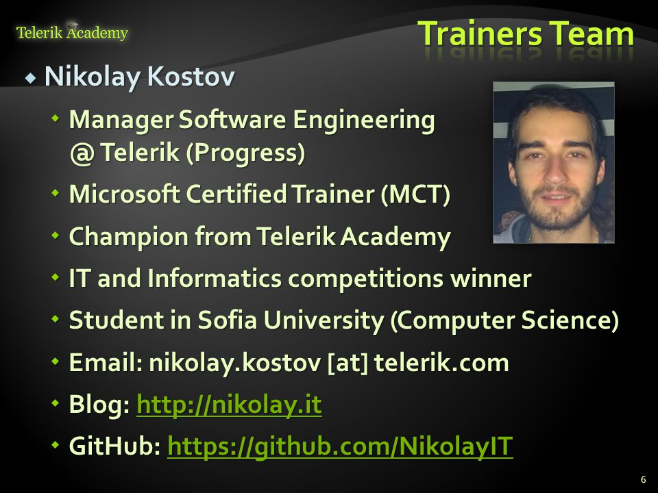 About the Course Telerik Software Academy CSS Styling  - ppt download