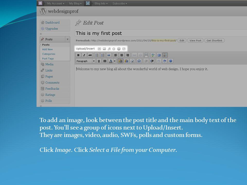 A demonstration of WordPress to create a blog/website. Elio L. Arteaga, MFA. - ppt download - 웹