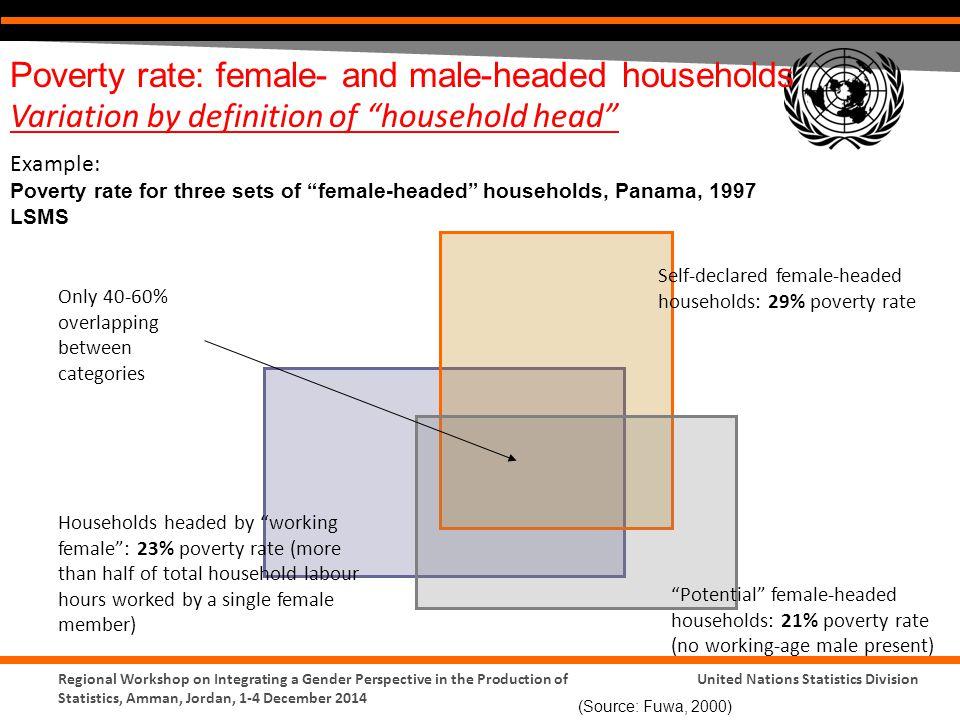 female headed households definition