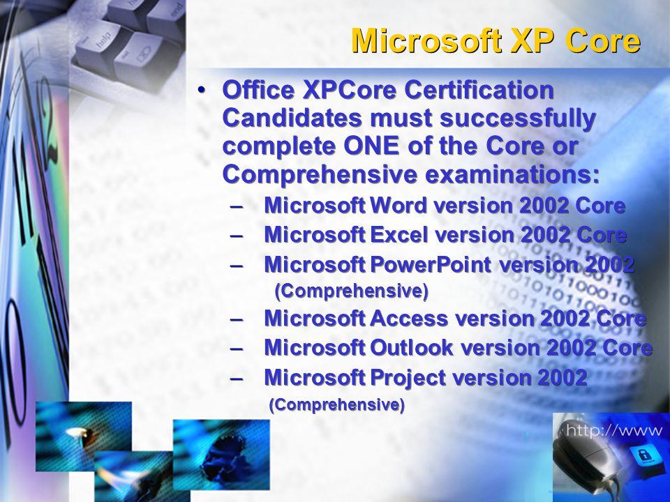 Microsoft Office Specialist Certification Professor Corinne