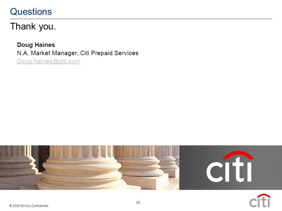 Citi Prepaid Limited Brands >> Citi Prepaid Services An Overview To Delivering Better Electronic