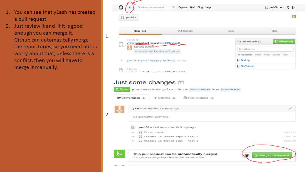 Chapter 4 The Online Repository CREATE A REPO ONLINE ON GITHUB COM