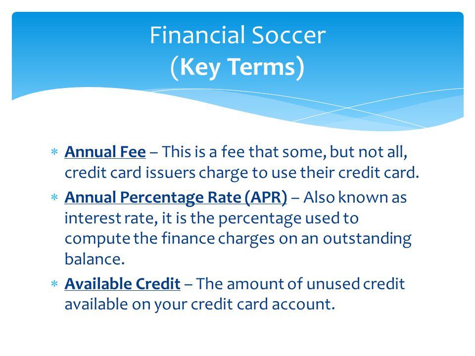 Financial Soccer Module 3 (Credit, Debit, & Prepaid Cards) - ppt download - 웹