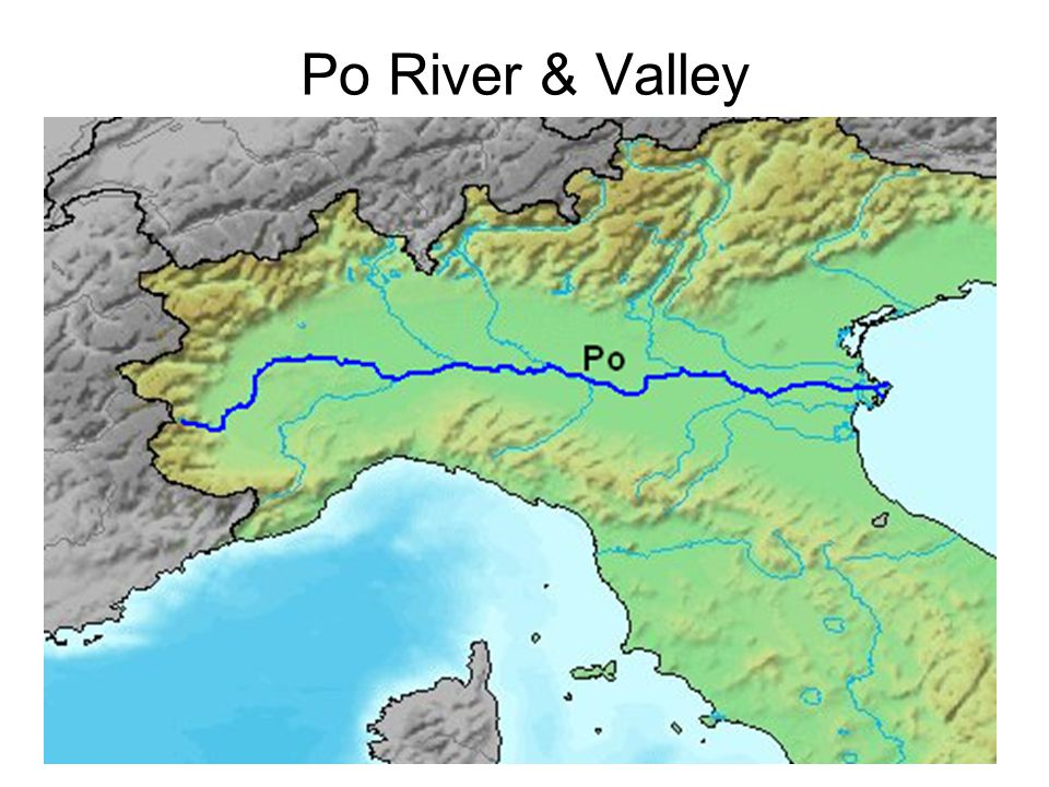 Po River & Valley