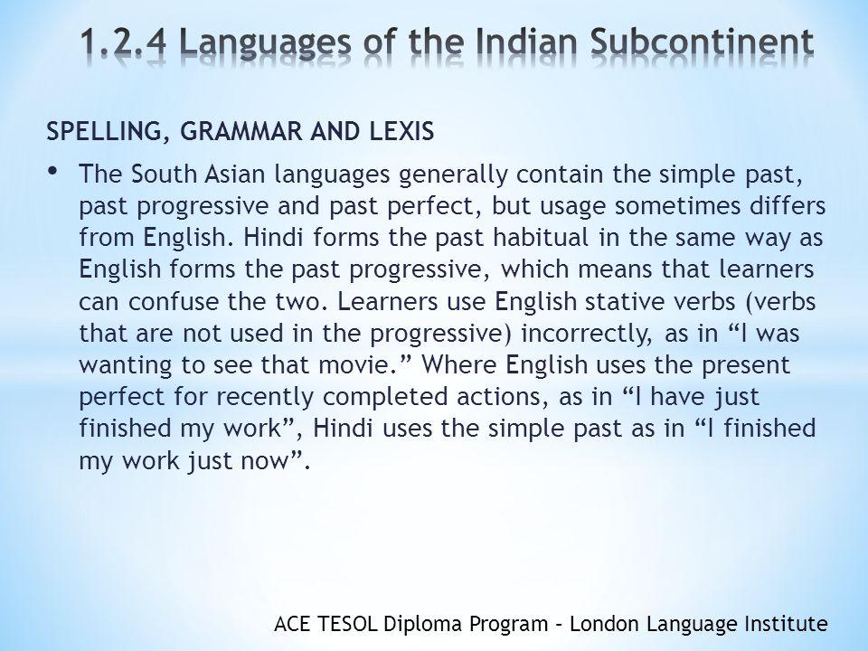 ACE TESOL Diploma Program – London Language Institute