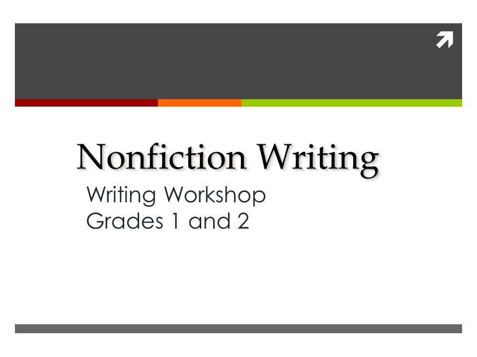  Nonfiction Writing Writing Workshop Grades 1 and 2