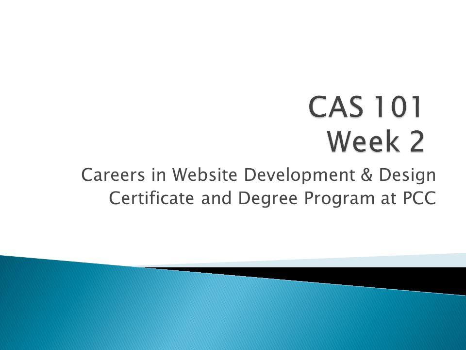 Careers In Website Development Design Certificate And Degree
