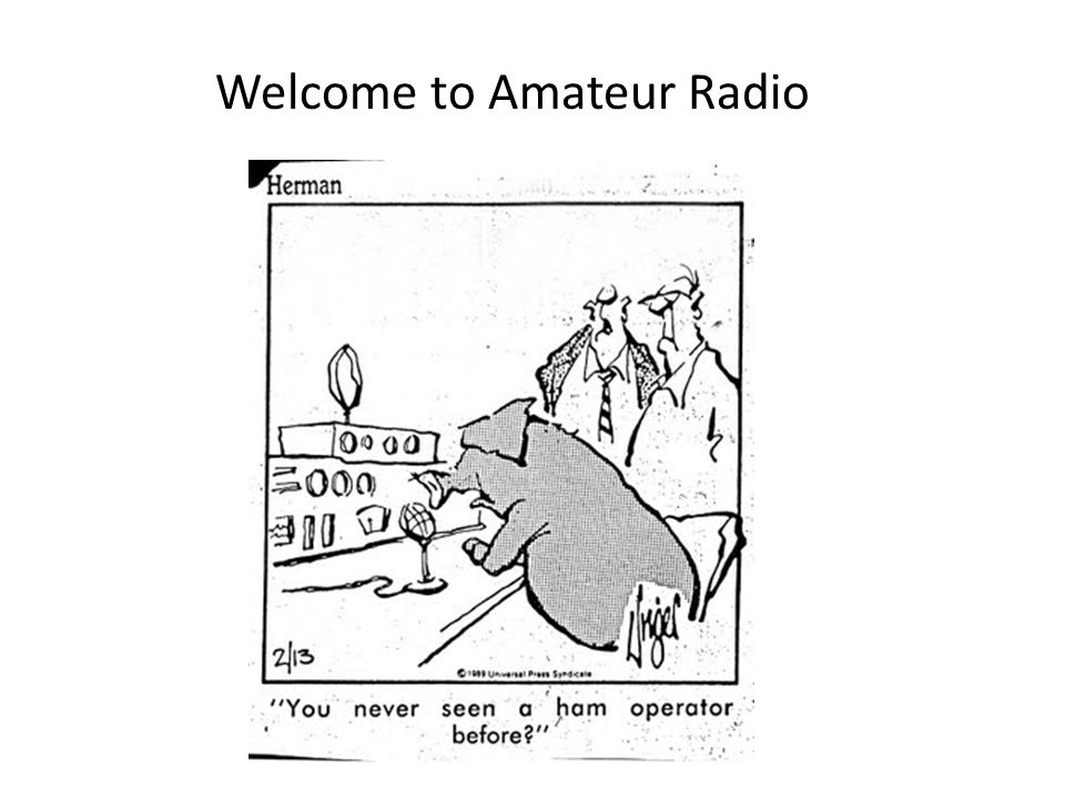 Welcome to Amateur Radio