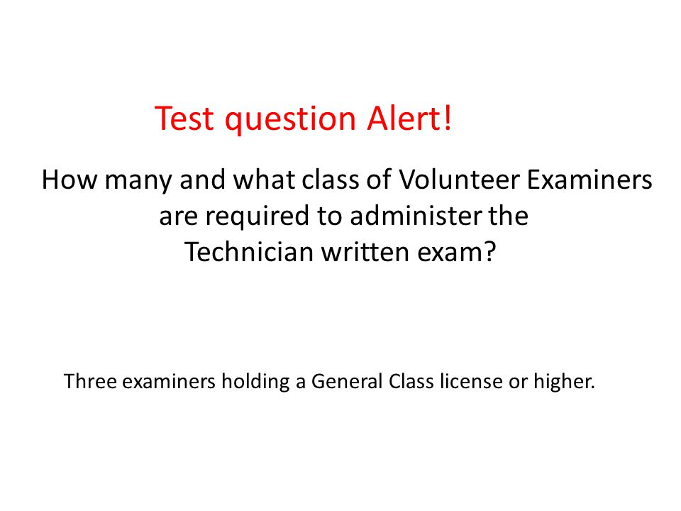 Test question Alert.