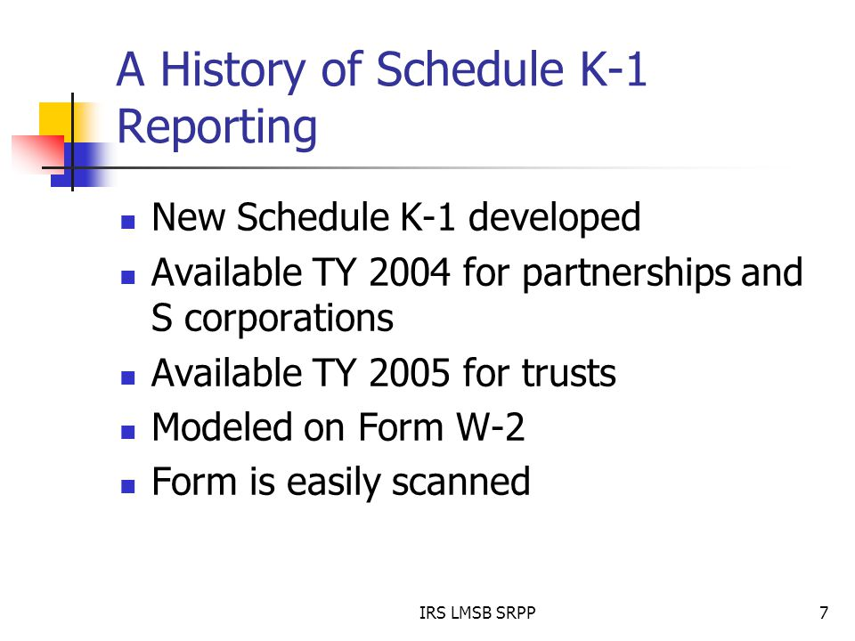 Schedule K 1 Compliance And The Yk 1 Link Analysis Tool Msata