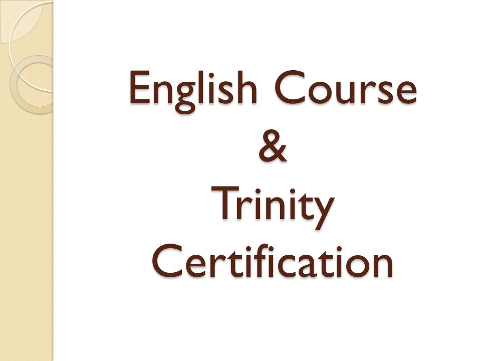 English Course Trinity Certification Trinity Ise I B1 Cefr