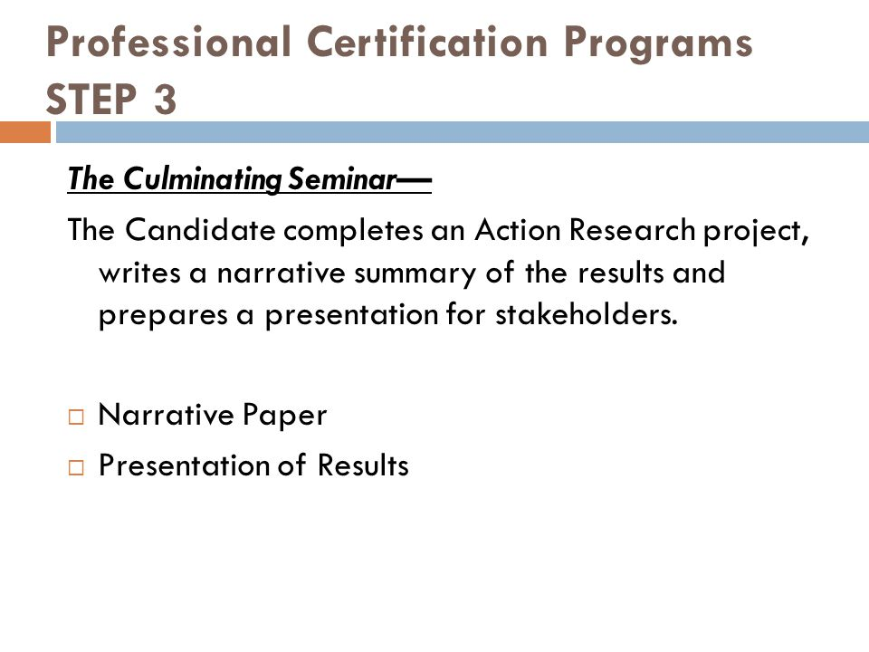 Professional Certification Job Embedded Professional Development For