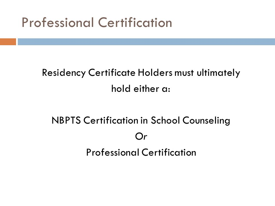 PROFESSIONAL CERTIFICATION JOB EMBEDDED PROFESSIONAL DEVELOPMENT FOR ...