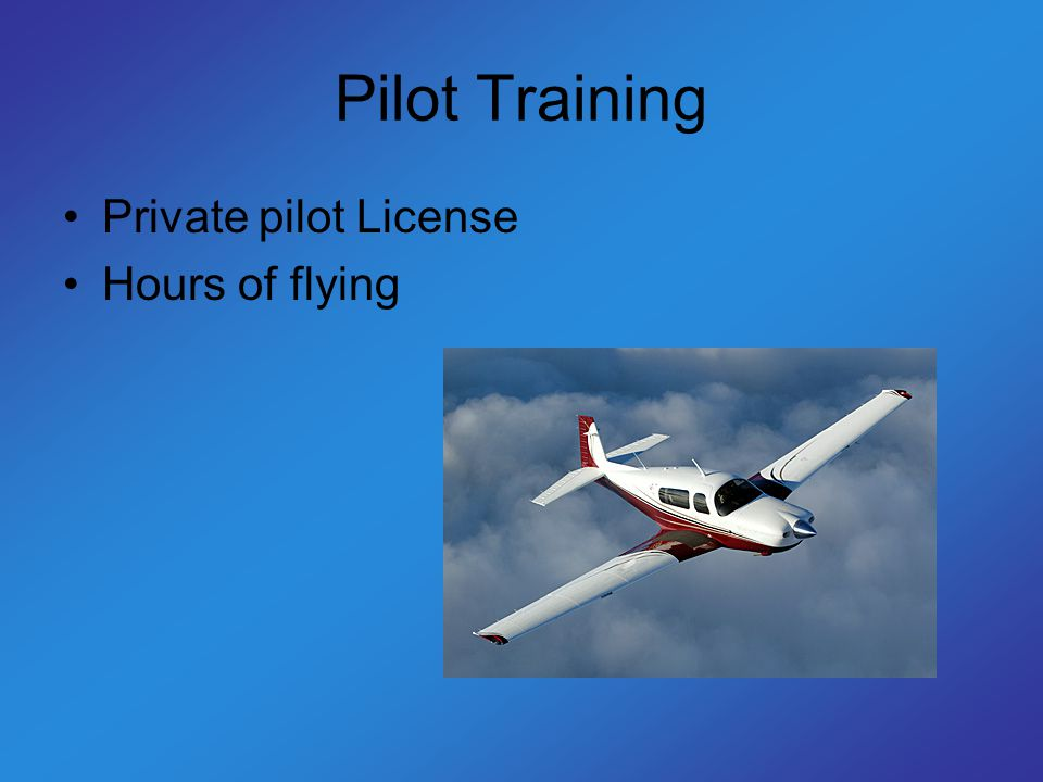 Commercial Pilot By, Lyndon Peters  Index High School