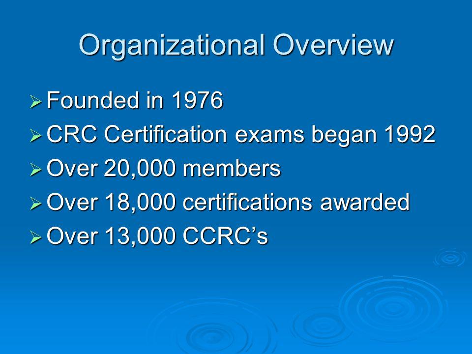 Acrp Clinical Research Coordinator Certification Program Tammy