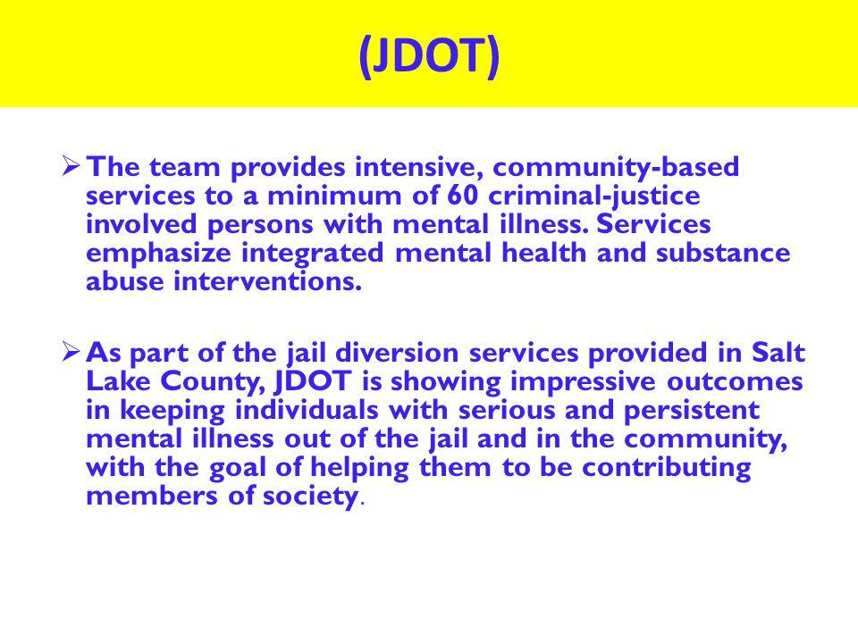 Utilizing Evidence Based & Peer Programs as Jail Diversion