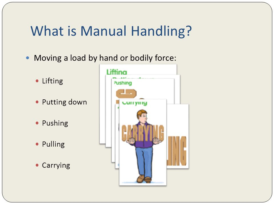moving and handling in health and Moving and handling theory social-caretv's handling theory explains why safe handling is important and the principles that make safe handling work this course is specifically for health and social care providers.