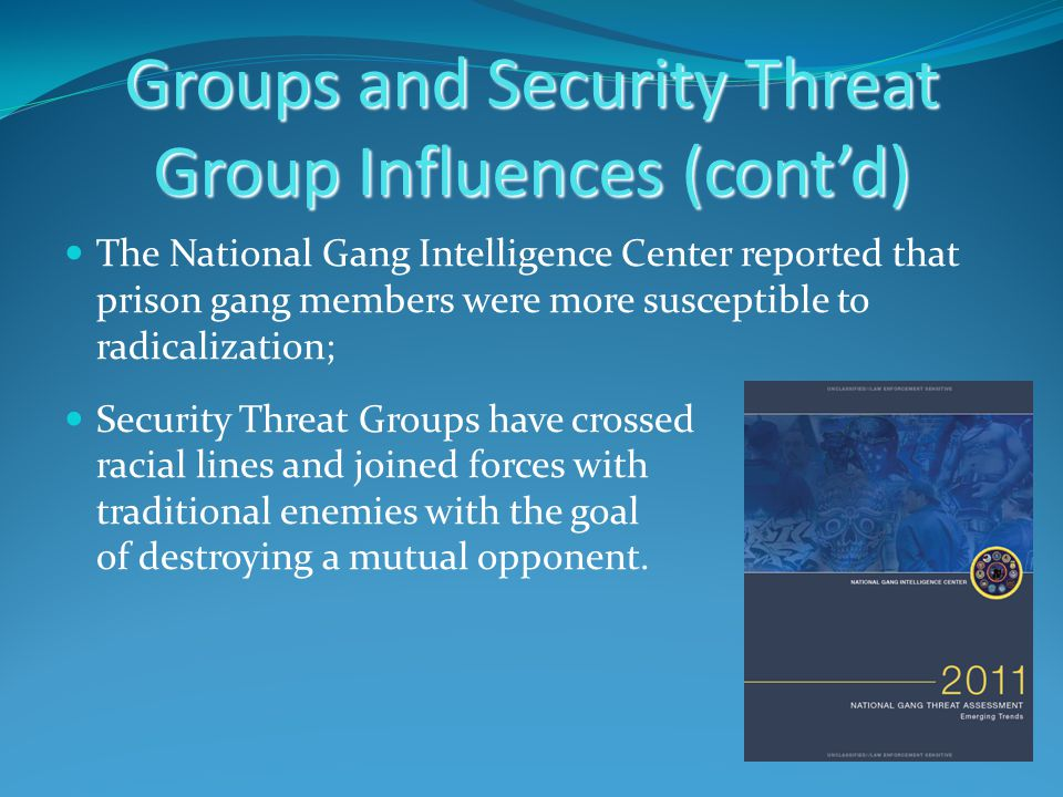 security threat groups in prison