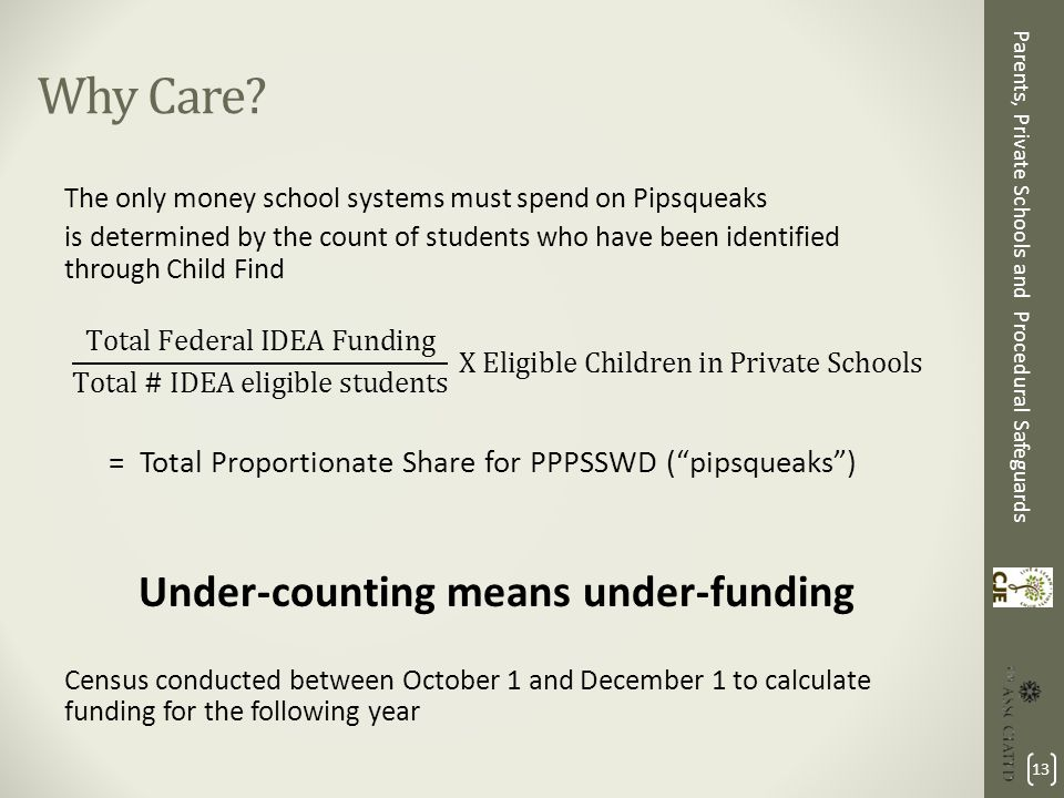 Special Education Procedural Safeguards_31 >> Parents Private Schools And Procedural Safeguards Advocacy For