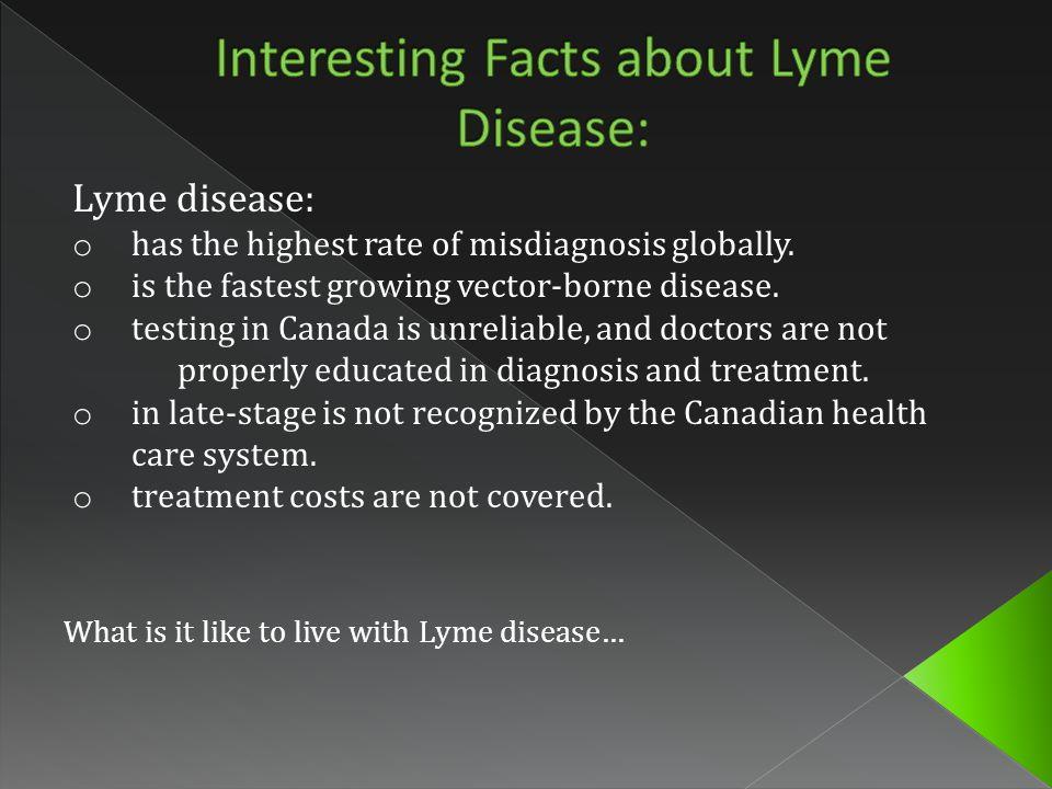 Borrelia burgdorferi, the causative agent of Lyme Disease