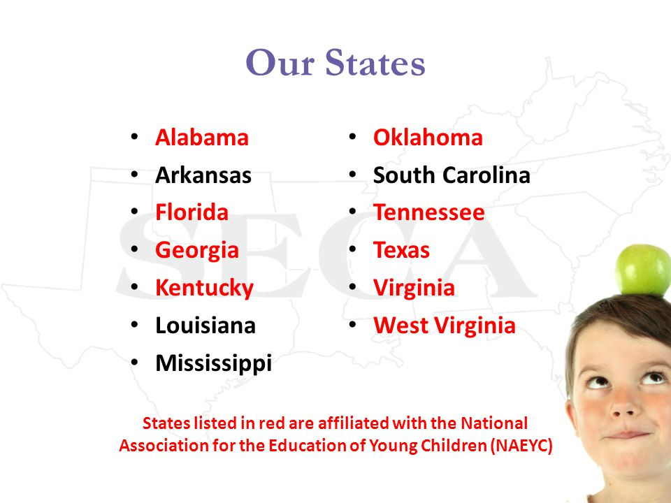 Southern Early Childhood Association An Organization Committed To