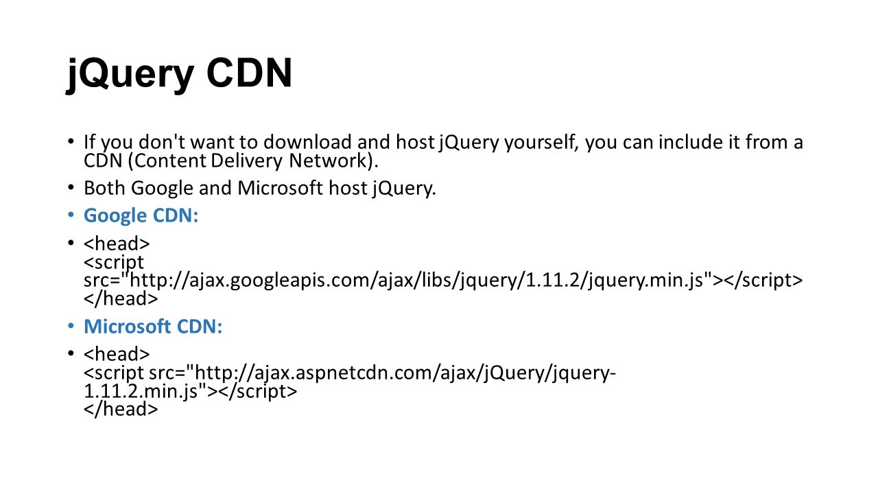 CS428 Web Engineering Lecture 15 Introduction to Jquery